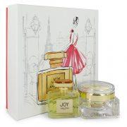 JOY by Jean Patou Gift Set -- 2.5 oz Eau De Parfum Spray + 3.4 oz Body Cream Women