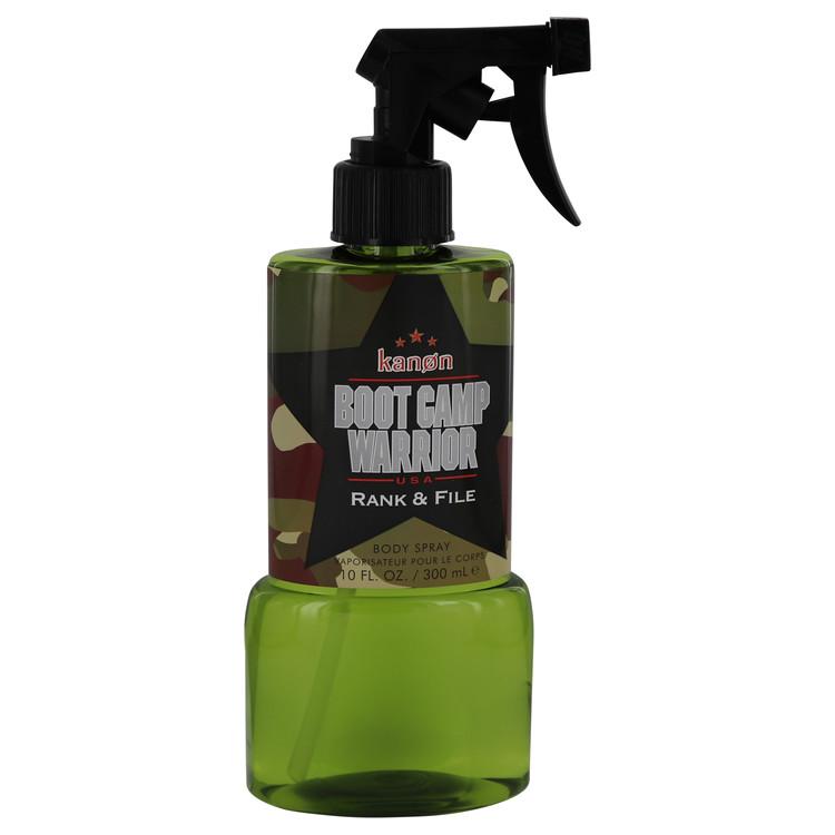 Kanon Boot Camp Warrior Rank & File by Kanon Body Spray 10 oz Men