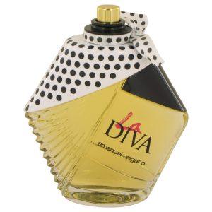 La Diva by Ungaro Eau De Parfum Spray (Tester) 3.4 oz Women