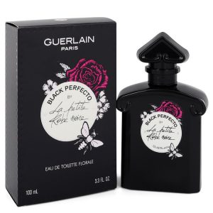La Petite Robe Noire Black Perfecto by Guerlain Eau De Toilette Florale Spray 3.3 oz Women