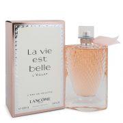 La Vie Est Belle L'eclat by Lancome L'eau de Toilette Spray 3.4 oz Women