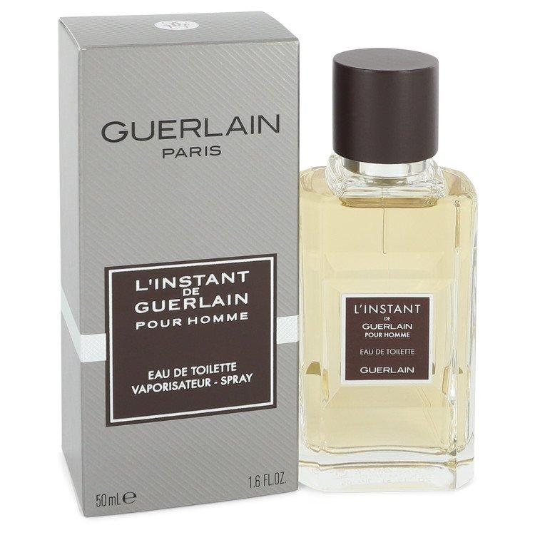 L'instant by Guerlain Eau De Toilette Spray 1.6 oz Men