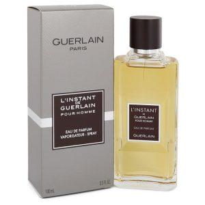 L'instant by Guerlain Eau De Parfum Spray 3.3 oz Men