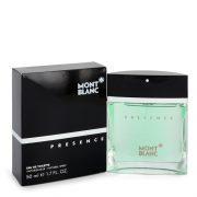 Presence by Mont Blanc Eau De Toilette Spray 1.7 oz Men