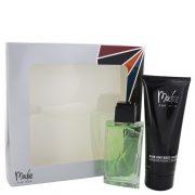 MACKIE by Bob Mackie Gift Set -- 3.4 oz Eau De Toilette Spray + 6.7 oz Shower Gel Men