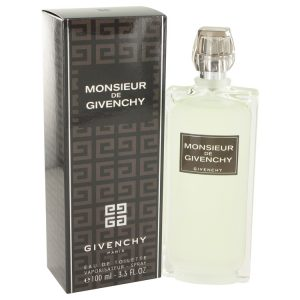Monsieur Givenchy by Givenchy Eau De Toilette Spray 3.4 oz Men