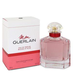 Mon Guerlain Bloom of Rose by Guerlain Eau De Parfum Spray 3.3 oz Women