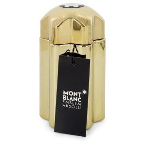 Montblanc Emblem Absolu by Mont Blanc Eau De Toilette Spray (Tester) 3.3 oz Men
