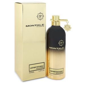 Montale Leather Patchouli by Montale Eau De Parfum Spray (Unisex) 3.4 oz Women