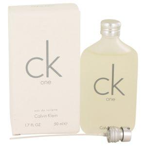 CK ONE by Calvin Klein Eau De Toilette Pour / Spray (Unisex) 1.7 oz Men