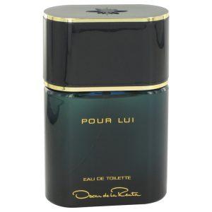Oscar Pour Lui by Oscar de la Renta Eau De Toilette Spray (unboxed) 3 oz Men