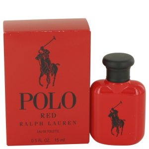 Polo Red by Ralph Lauren Eau De Toilette .5 oz Men