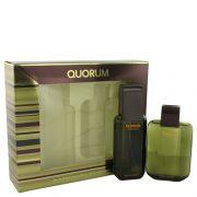 QUORUM by Antonio Puig Gift Set -- 3.3 oz Eau De Toilette Spray + 3.3 oz After Shave Men