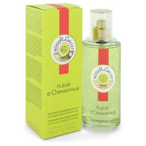 Roger & Gallet Fleur D'Osmanthus by Roger & Gallet Fragrant Wellbeing Water Spray 3.3 oz Women