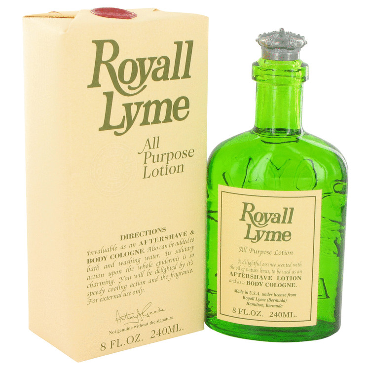 ROYALL LYME by Royall Fragrances All Purpose Lotion / Cologne 8 oz Men