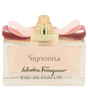 Signorina by Salvatore Ferragamo Eau De Parfum Spray (Tester) 3.4 oz Women