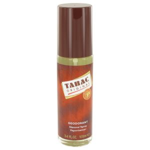 TABAC by Maurer & Wirtz Deodorant Spray (Glass Bottle) 3.3 oz Men