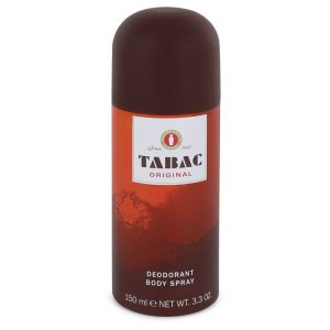 TABAC by Maurer & Wirtz Deodorant Spray Can 3.4 oz Men