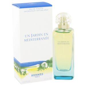 Un Jardin En Mediterranee by Hermes Eau De Toilette Spray (Unisex) 3.4 oz Men