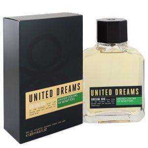 United Dreams Dream Big by Benetton Eau De Toilette Spray 6.8 oz Men