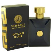 Versace Pour Homme Dylan Blue by Versace After Shave Lotion 3.4 oz Men