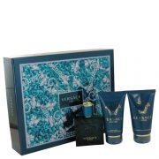 Versace Eros by Versace Gift Set -- 1.7 oz Eau De Toilette Spray + 1.7 Shower Gel + 1.7 oz After Shave Balm Men