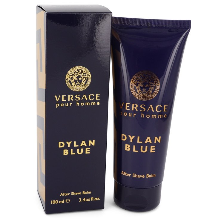 Versace Pour Homme Dylan Blue by Versace After Shave Balm 3.4 oz Men