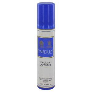 English Lavender by Yardley London Refreshing Body Spray (Unisex) 2.6 oz Women