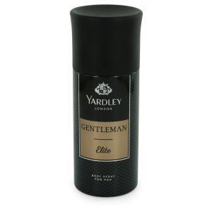 Yardley Gentleman Elite by Yardley London Deodorant Body Spray 5 oz Men