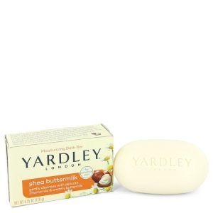 Yardley London Soaps by Yardley London Shea Butter Milk Naturally Moisturizing Bath Soap 4.25 oz Women
