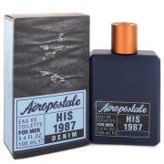 Aeropostale His 1987 Denim by Aeropostale Eau De Toilette Spray 3.4 oz Men