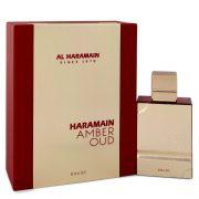 Al Haramain Amber Oud Rouge by Al Haramain Eau De Parfum Spray 2 oz Men