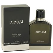 Armani Eau De Nuit by Giorgio Armani Eau De Toilette Spray 1.7 oz Men