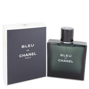 Bleu De Chanel by Chanel Eau De Toilette Spray 3.4 oz Men