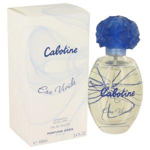 Cabotine Eau Vivide by Parfums Gres Eau De Toilette Spray 3.4 oz Women