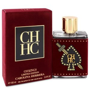 CH Kings by Carolina Herrera Eau De Parfum Spray (Limited Edition Bottle) 3.4 oz Men