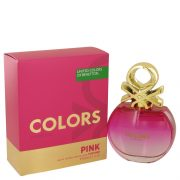 Colors Pink by Benetton Eau De Toilette Spray 2.7 oz Women