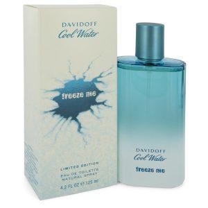 Cool Water Freeze Me by Davidoff Eau De Toilette Spray 4.2 oz Men