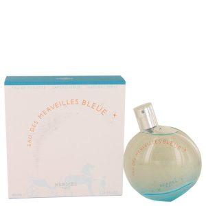 Eau des Merveilles Bleue by Hermes Eau De Toilette Spray 3.4 oz Women