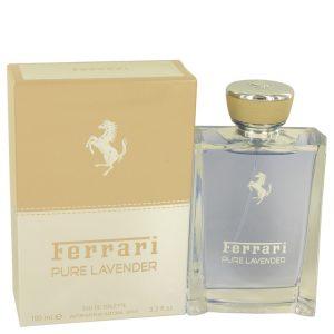 Ferrari Pure Lavender by Ferrari Eau De Toilette Spray (Unisex) 3.4 oz Men
