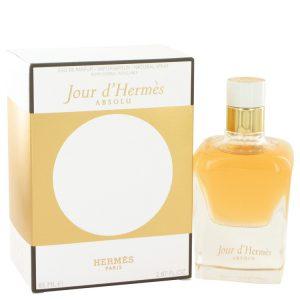 Jour D'hermes Absolu by Hermes Eau De Parfum Spray Refillable 2.87 oz Women