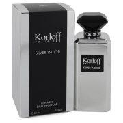 Korloff Silver Wood by Korloff Eau De Parfum Spray 3 oz Men