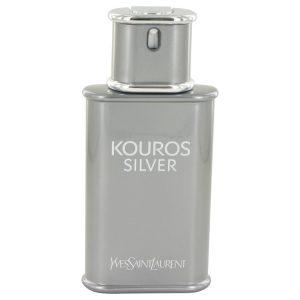 Kouros Silver by Yves Saint Laurent Eau De Toilette Spray (Tester) 3.4 oz Men