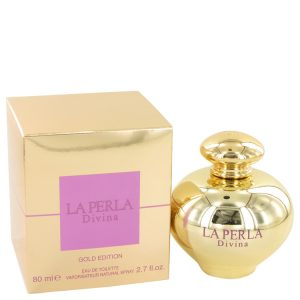 La Perla Divina Gold by Ungaro Eau De Toilette Spray 2.7 oz Women