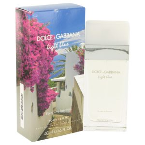 Light Blue Escape to Panarea by Dolce & Gabbana Eau De Toilette Spray 1.6 oz Women