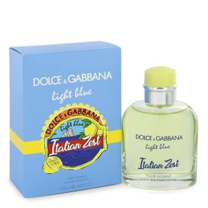 Light Blue Italian Zest by Dolce & Gabbana Eau De Toilette Spray 4.2 oz Men