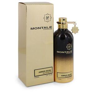 Montale Amber Musk by Montale Eau De Parfum Spray (Unisex) 3.4 oz Women