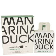 Mandarina Duck Black & White by Mandarina Duck Eau De Toilette Spray 3.4 oz Men