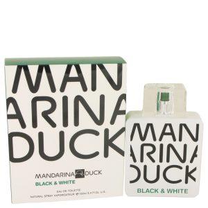 Mandarina Duck Black & White by Mandarina Duck Eau De Toilette Spray 3.4 oz Men