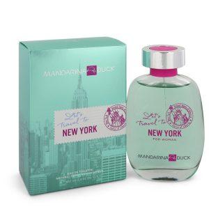 Mandarina Duck Let's Travel to New York by Mandarina Duck Eau De Toilette Spray 3.4 oz Women